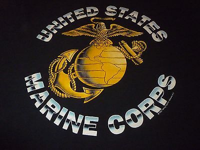 Vintage 1994 Marine Corps Shirt ( Used Size L ) Very Good Condition!!!