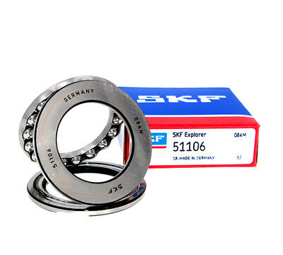 SKF 51105 Thrust ball bearings, single direction 25x42x11 mm