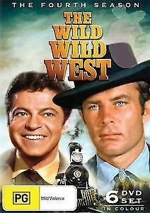 The Wild Wild West Fourth Season 6 disc DVD New and Sealed Australia All Regions