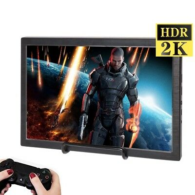 10.1 inch Portable Game Monitor 2560x1600 2K HDMI IPS Display For PS3  PS4 Xbox