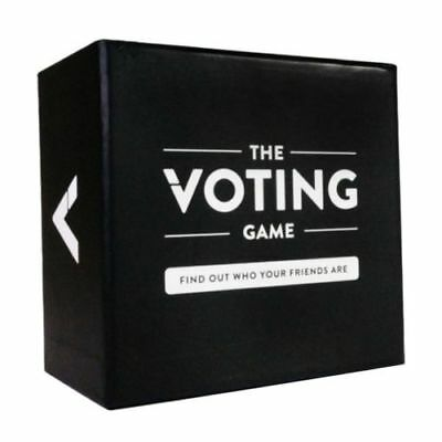The Voting Game Adult Against Humanity Party Night Club Playing Cards Game AU