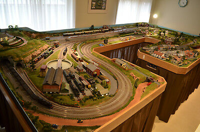 model railway layout OO/HO exhibition quality