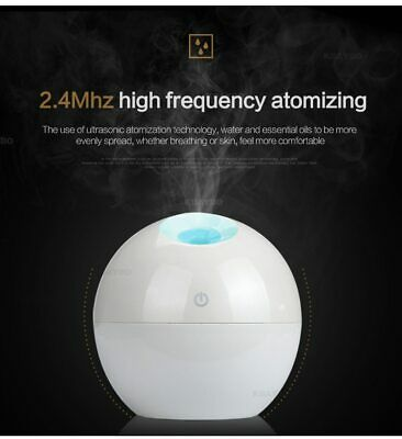 Air Humidifier USB Aroma Essential Oil Diffuser Ultrasonic Mist Purifier of Home
