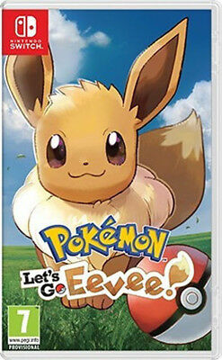 Pokemon: Let's Go, Eevee Nintendo Switch PAL