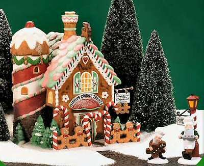 Dept. 56 North Pole: Ginny's Cookie Treats Set NEW 3 pc. Gingerbread Corner