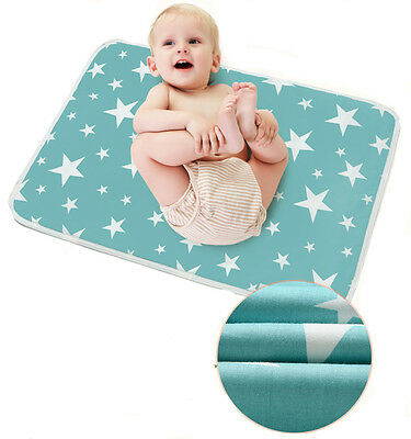 Baby Infant Diaper Nappy Urine Mat Kid Waterproof Bedding Changing Cover Pad Mat