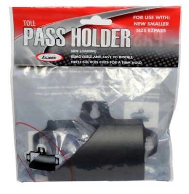 MINI EZ-Pass Clip Electronic Toll Tag Holder For The Small Black Easy To Use NEW