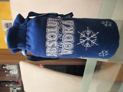 Absolut VODKA New Year Christmas Bag 700 ML VOLLE FLASCHE UNCUT Polen