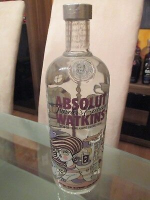 Absolut Vodka Watkins 40% 1Liter Wodka Limited Edition UNCUT