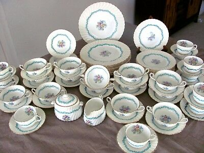 Minton Ardmore China 81 Pc Set for 10 & accessories