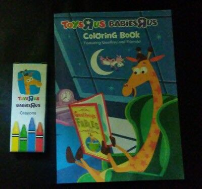 Toys R Us Babies R Us Geoffrey And Friends Kids Coloring Books And