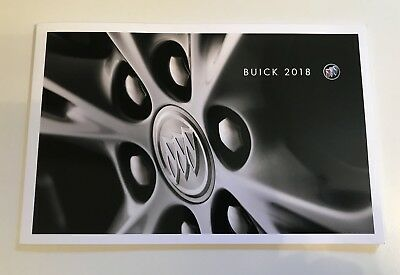 Buick 2018 Product Guide Brochure New