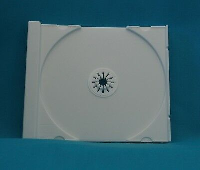 5 CD replacement trays for 10.4 mm Jewel case - Tray only (White)