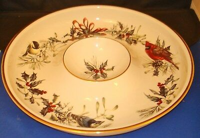 Lenox winter greetings chip and dip dish new 4500 picclick lenox winter greetings chip and dip dish new m4hsunfo