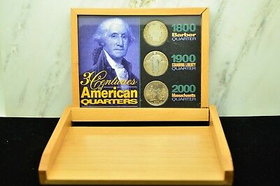 3 Centuries Of American Quarters 1897 1929 2000