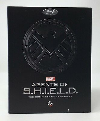 Agents of S.H.I.E.L.D.: The Complete First Season Blu-ray 2014, 5-Disc Slipcover