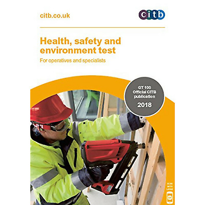 CSCS Card Test Book 2018 Health Safety And Environment Operatives CITB NEW