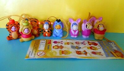 WINNIE THE POOH ANIMAL WEAR COMPLETA  Edition Tomy
