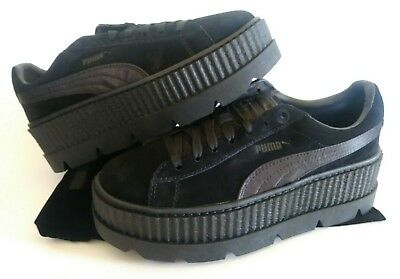 NEW PUMA X Fenty Cleated Creeper Suede Womens sz 8 Black Rihanna 366268 04   160 -  78.00  909dabb14