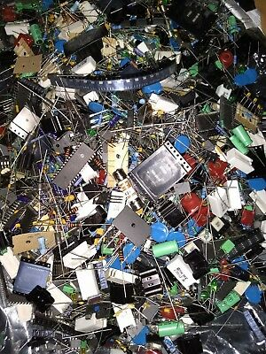 One Pound-ELECTRONIC COMPONENTS GRAB BAG