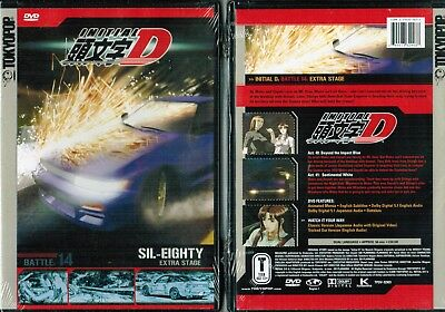 Initial D Battle 14 Extra Stage New Anime DVD Tokyopop Release