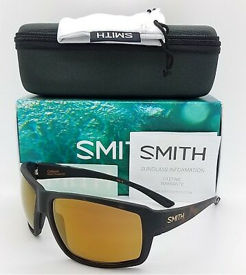 34f4fec7be NEW Smith Colson Sunglasses Matte Tortoise ChromaPop+ Polarized Brown  219  pop