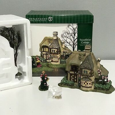 Department 56 Sweetbriar Cottage Dickens Village Series Dept