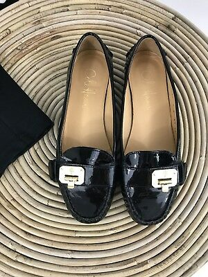 8f5f7ed60f3 SO SIS SIZE 6 Shoes NEW Women s Patient Slip On Black NEW Loafers ...