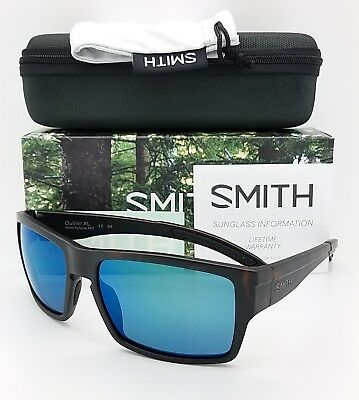 0b5669ae0e NEW Smith Outlier XL Sunglasses Matte Tort Chromapop Polarized Blue Mirror   169