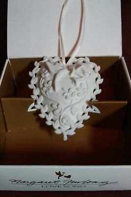 "1999 Margaret Furlong ""Love Song"" Porcelain Ornament in Original Box"