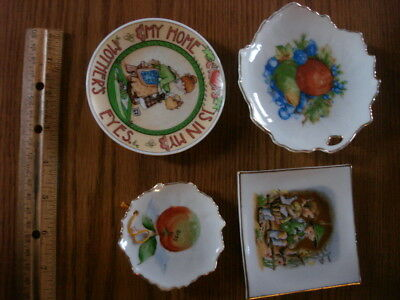 Mixed Lot Collector Plate Fruit Mom  Wall Hanging Vintage porcelain