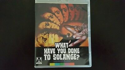 What Have You Done To Solange? (1972) Blu-ray + DVD Arrow Video Special Edition