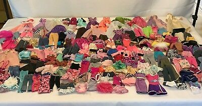 Barbie Doll Clothes Clothing Lot of 192 Pieces Dresses Tops Pants Skirts