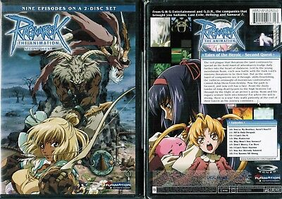 Ragnarok Animation  Vol 2 Second Quest New Anime DVD Funimation Release