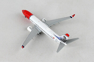 Herpa Wings Norwegian Air Shuttle Boeing 737-800 Erik Bye 529280-001 Reg#LN-DYA