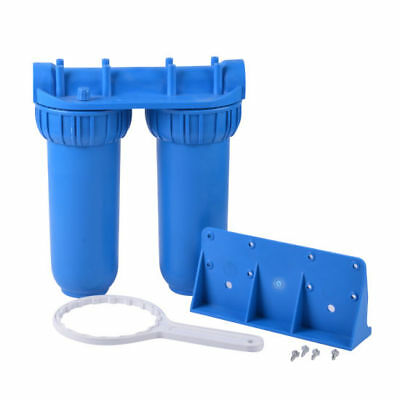 Blue Whole House Water Filter System WITH SEDIMENT & CARBON