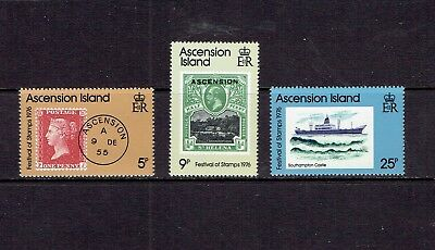 Ascension Island - 1976 Festival Of Stamps - Scott 212 To 214 - Mnh