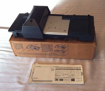 Bartizan Model CM2020 Credit Card Imprinter - Vintage with Original Box