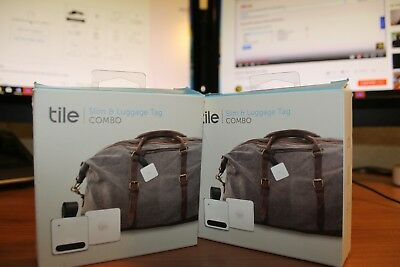 Tile Slim & Luggage Tag COMBO, used for Keys, Phone, Luggage, ANYTHING,BRAND NEW