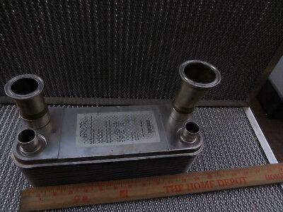 Alfa Laval Heat Exchanger NB26-34H  Brazed Stainless Steel Plate