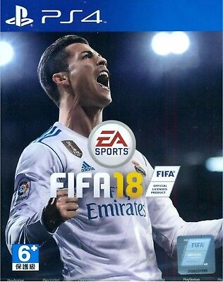US FIFA 18 English/Chinese Ver For Sony PS4 Sealed World Cup Game [Ship Global]