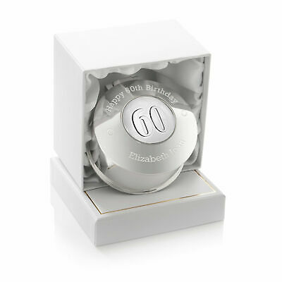 Girls 60th Birthday Gift Engraved Small Trinket Box Sixtieth Sixty 60 Gifts
