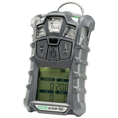 MSA altair 4X multi gas Meter Monitor detector, O2,H2S,CO,LEL &Charger