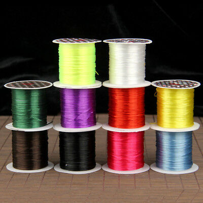 1Roll Stretchy Elastic Line Crystal String Beading Cord Thread Wire DIY HH3790