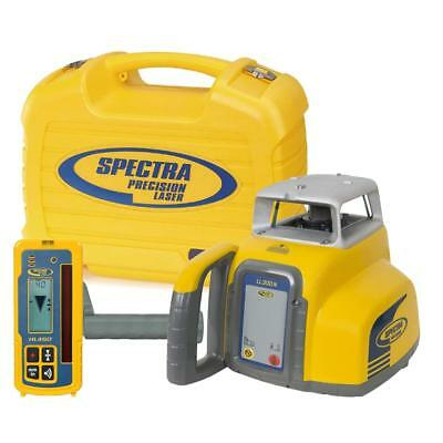 Spectra Precision Laser LL300-4 Automatic Self-leveling Level w/HR350 Receiver,