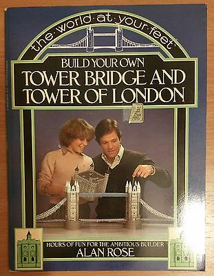 Build your own Tower Bridge and Tower of London
