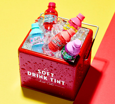 [Etude House] Soft Drink Tint Collections (Red/Grapefruit/Peach/Grape/Soda)