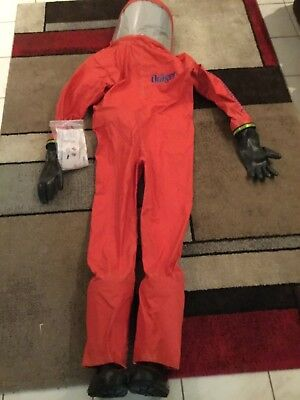Drager bio suit chemical suit ( large boots are size 11)