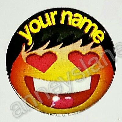 anneys - your OWN PERSONALISED  **smiley marker** golf ball marker!!