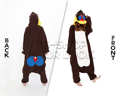KIGURUMI SAZAC JAPAN NILPFERD Cosplay Schlafanzug onesie Party ...